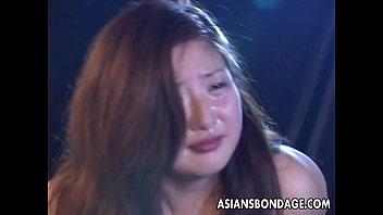 asian girl restrained in bondage