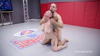 Mingled Naked Wrestling With Nikki Sequoia Struggling Indiana ...