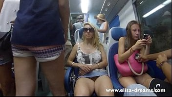 Pussy in public showing Sexy girl